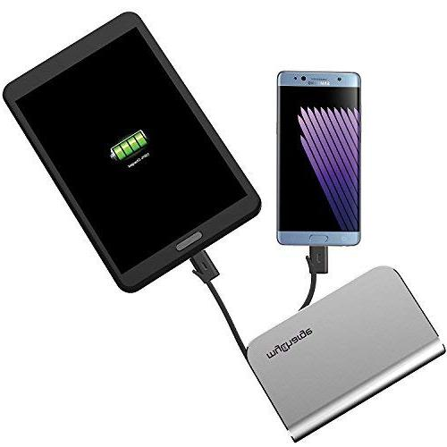 myCharge 6700mAh Power Port with Charge & Cables, Foldable Wall