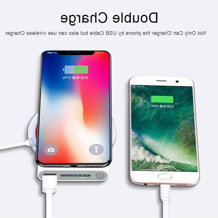 New Qi Power Bank B Charger For 8/X