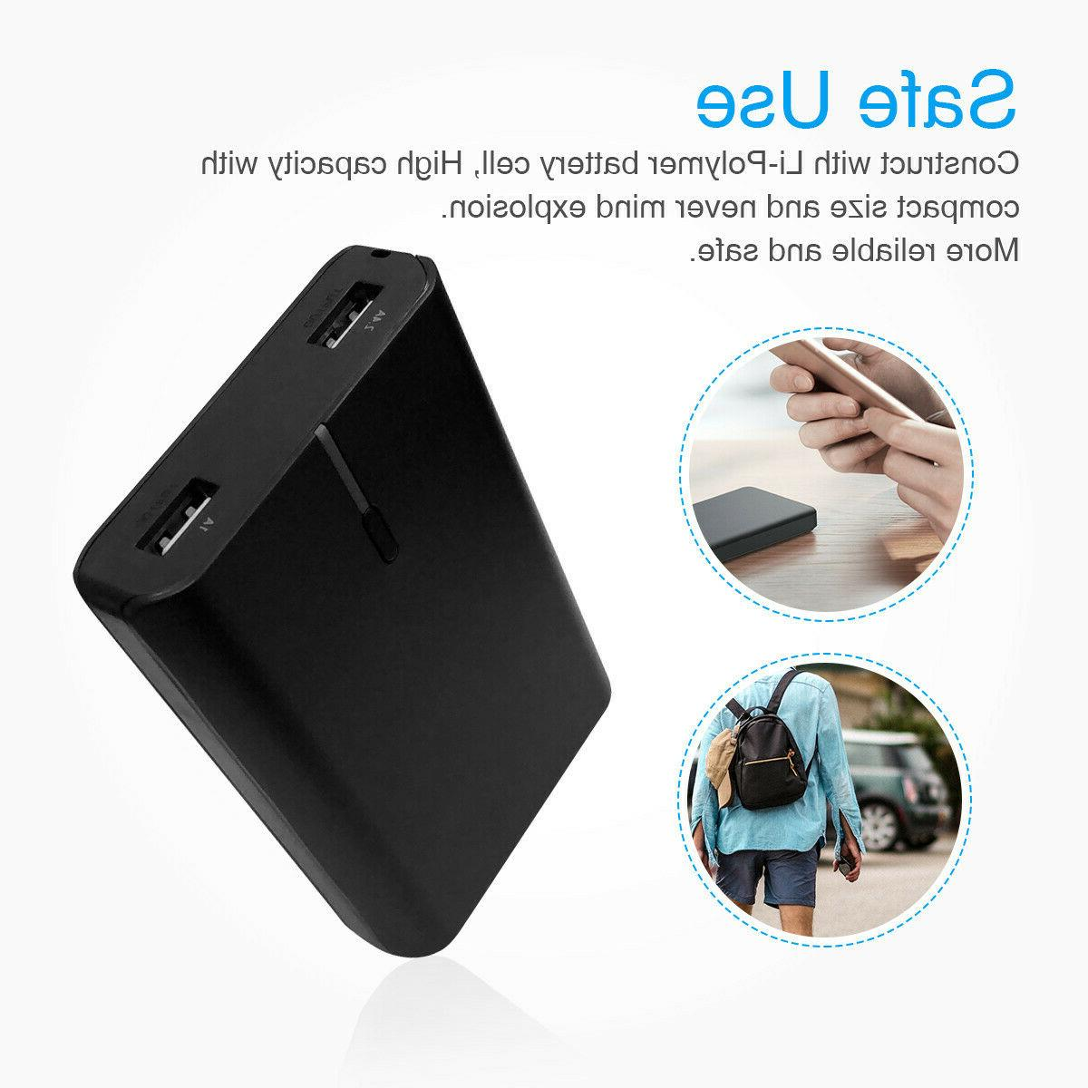 New USB Backup External Power Pack Charger Phone