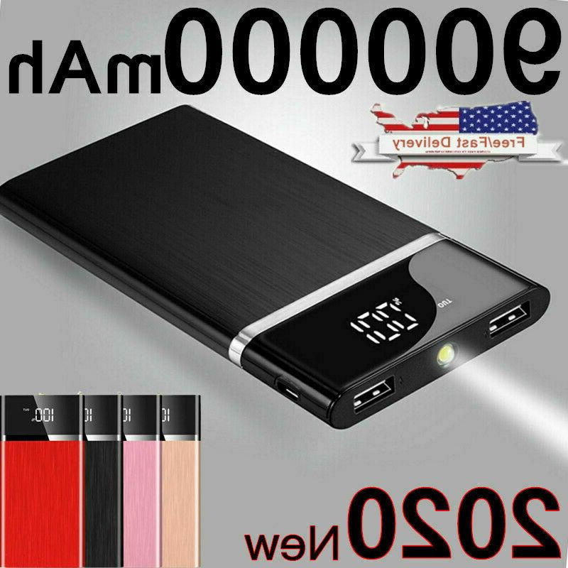 ultra thin portable external battery huge capacity
