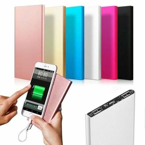 New 900000mAh Charger Power Bank Dual USB For Phone