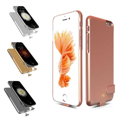 New Bank Backup Charger For iPhone6S 8Plus Thin Cover