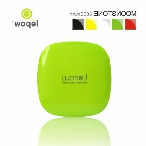 New Sealed Lepow Moonstone Power Bank Battery for Phone mAh Green