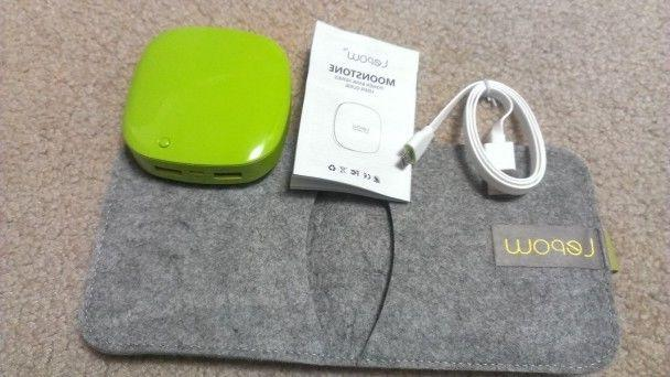 New Lepow Power Bank for Phone Green