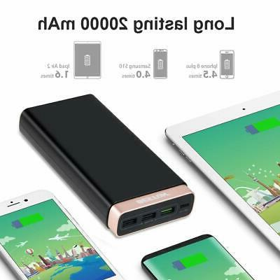 Portable Bank External Battery Backup Fast Charger