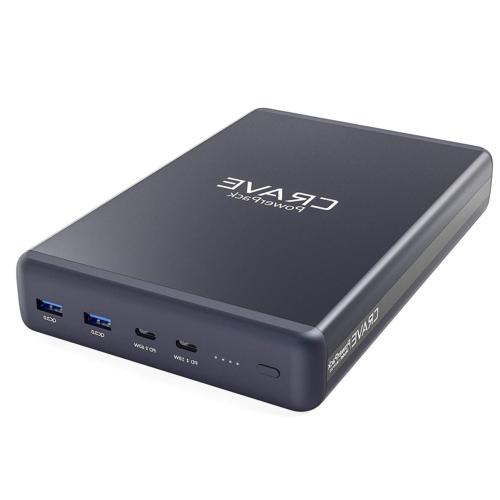 PD Power Bank, Crave PowerPack with 50000mAh [Power Delivery