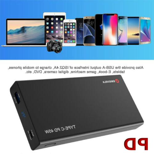 pde universal pd usb c portable charger