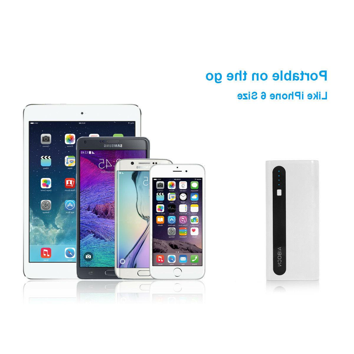 Aibocn Portable Battery Charger iPhone Samsung +