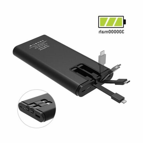 Portable LED Bank Type-C Battery For Phones