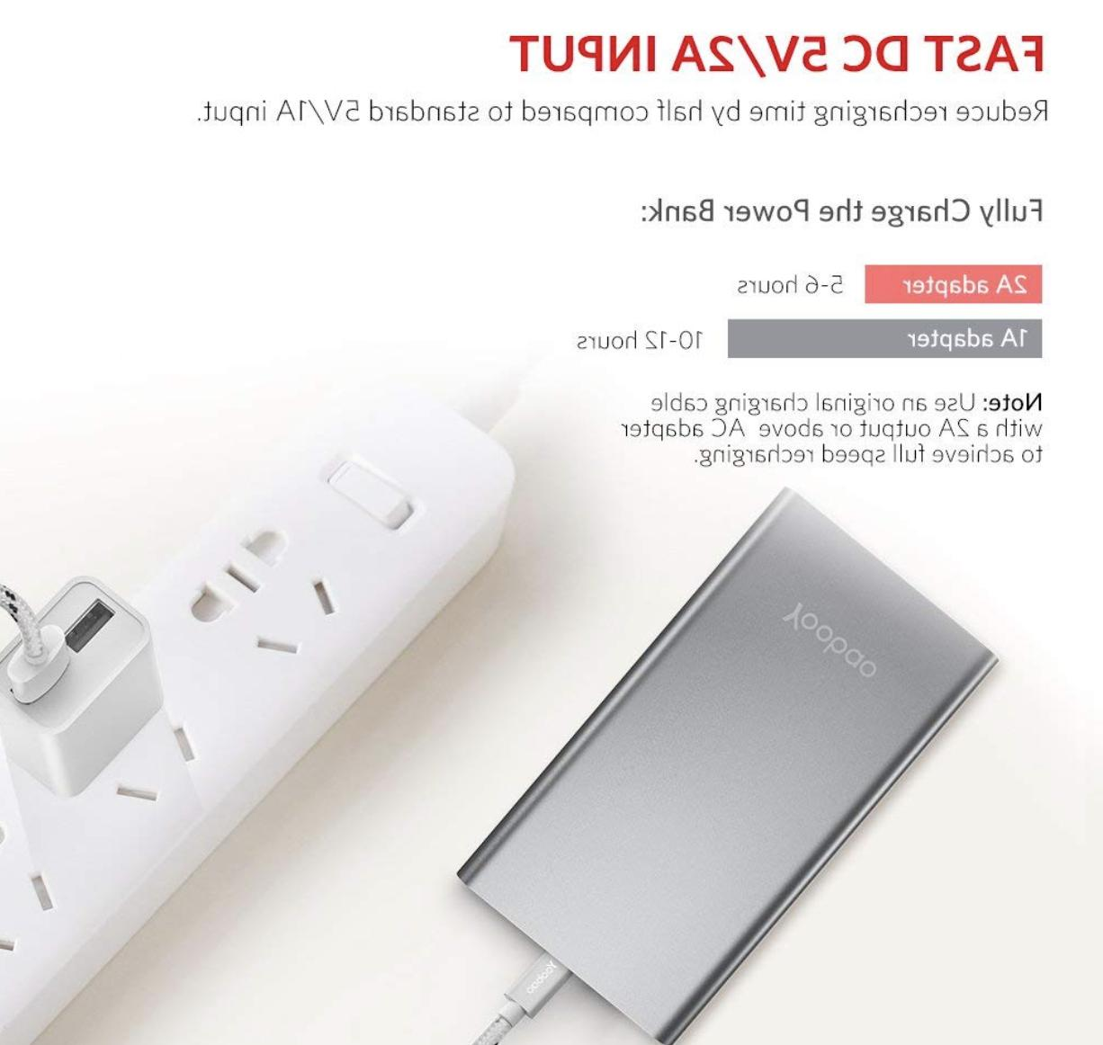 Yoobao Portable 10000mAh Slim Power External Phone B