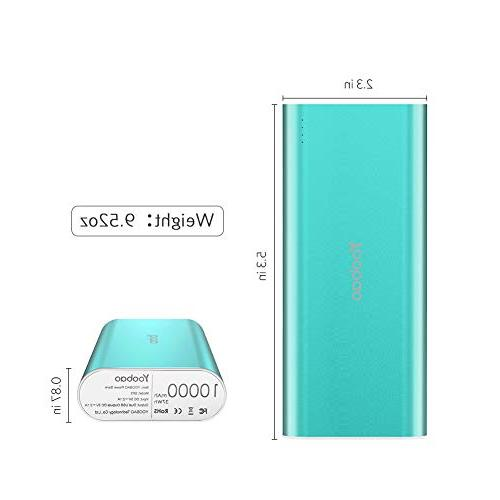 Portable Charger Cell Phone Battery 8 Smartphone More Green