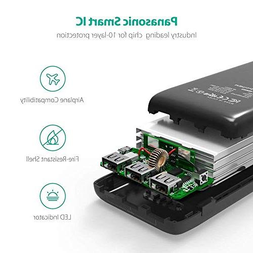 Portable Charger External Battery Power Banks 5.8A Output 3-Port –