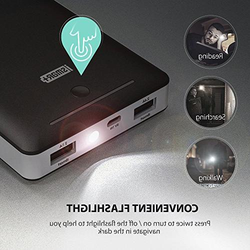Battery Pack Portable Power Power + Wall Charger Charger for S8, More