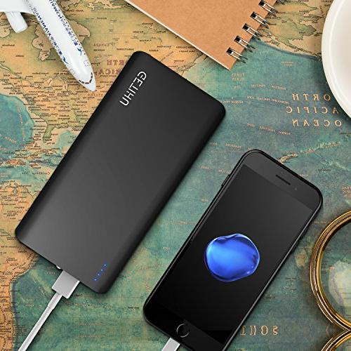 GETIHU Charger 13000mAh Power Ports Output Charging Backup with Xs 6s iPad Phone Pack