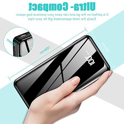 Portable 25000mAh - High with Digital USB Input Compatible with Phone,Tablet