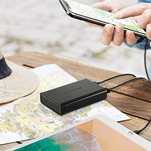 Portable Power Bank, Pack with High Charging, iSmart USB Portable Battery Charger for iPhone, More