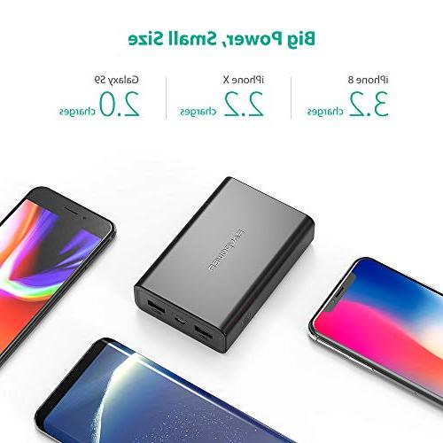 Portable Charger RAVPower Power Pack High iSmart Portable Battery Charger iPhone, and