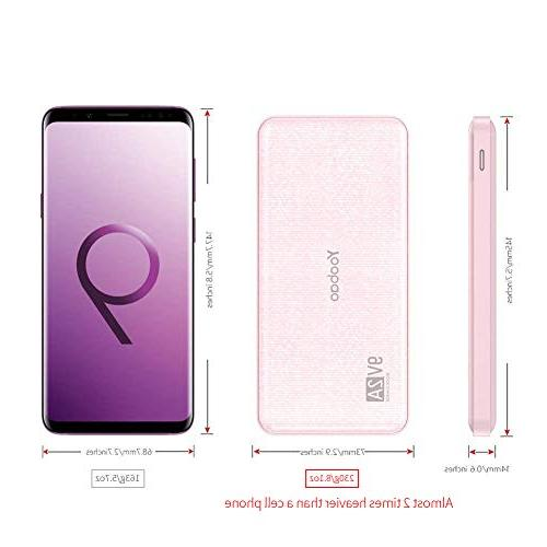 Yoobao Ultra Slim Bank Q12 Qualcomm Quick Charge 3.0 Battery Pack Fast Samsung Huawei Google LG