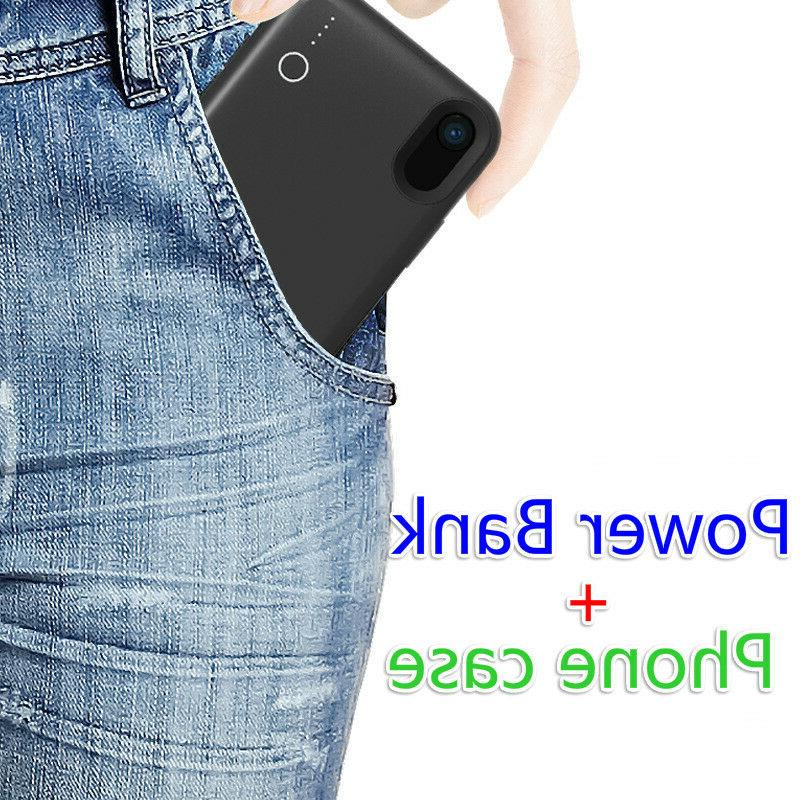 Portable magnetic wireless Charger Power Bank Battery Case for XS MAX