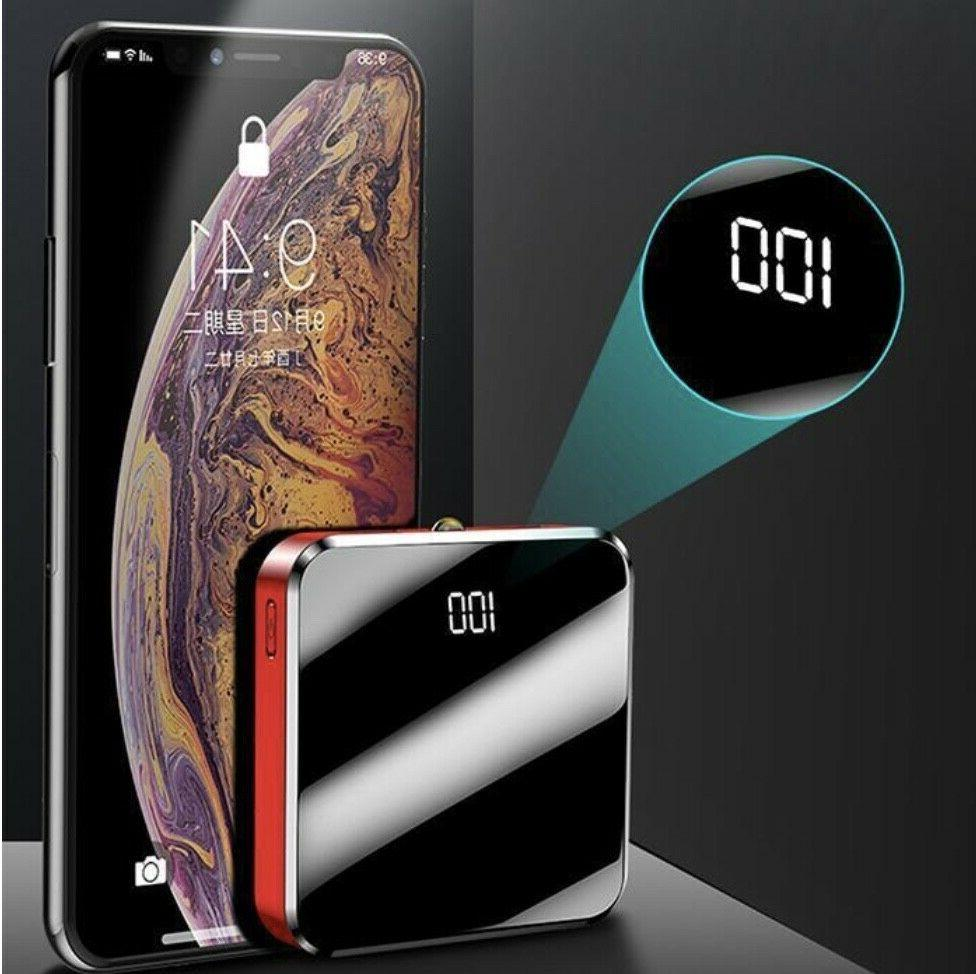 Portable Power Bank Mirror 2.1A Charge