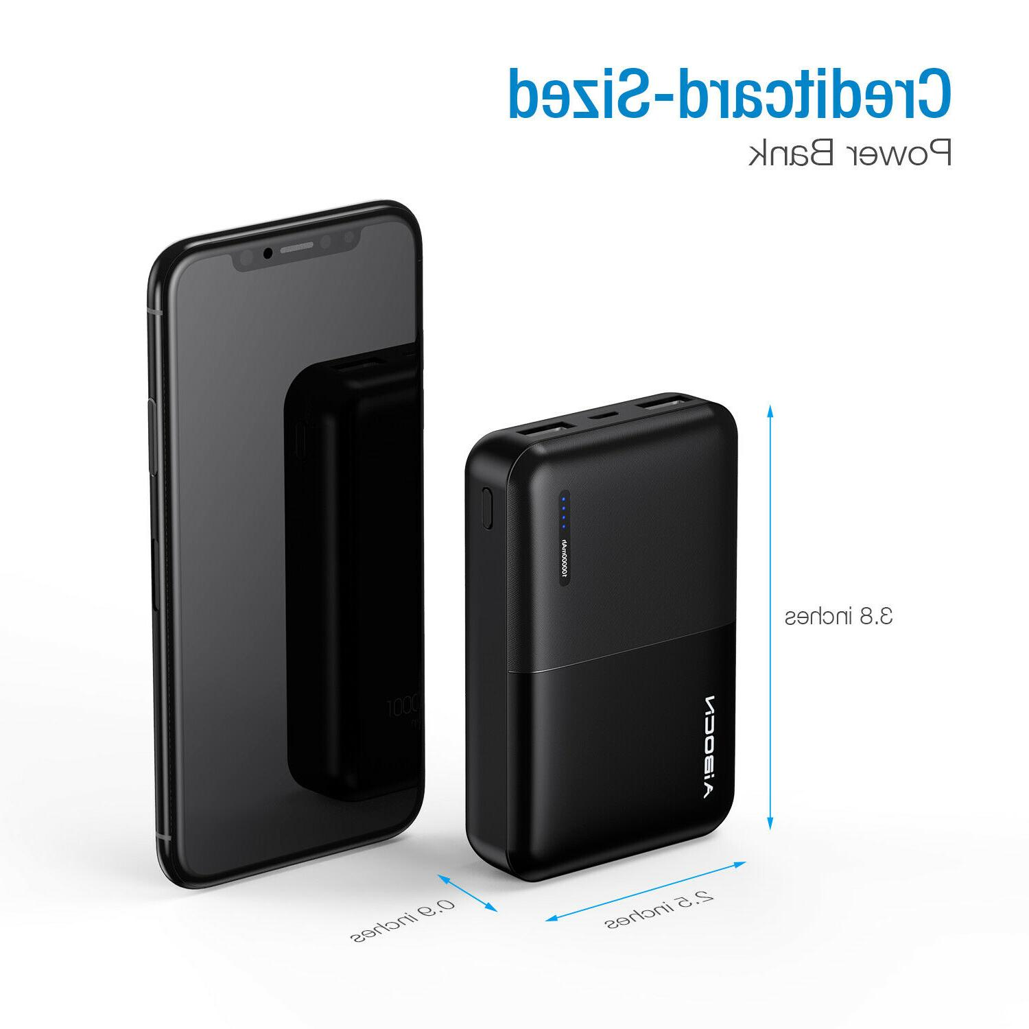 10000mAh Bank Charger For iPhone Android