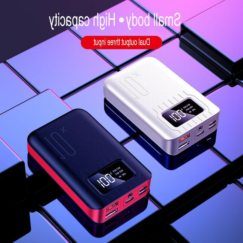 Mini Power Bank 100000mah iPhone & Android 5 Ports Fast 2.1A