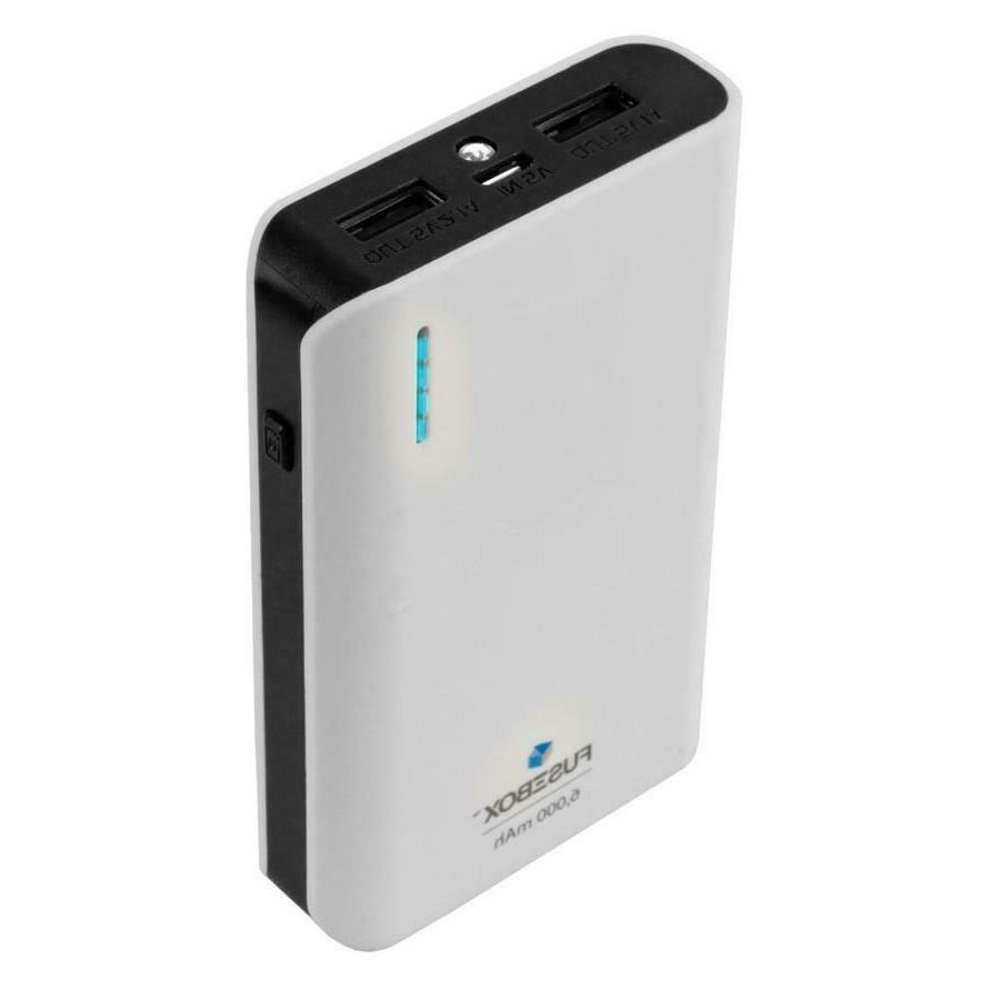 power bank 2 ports 6000 mah portable