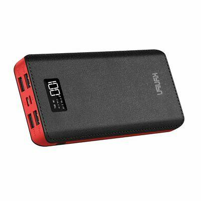 power bank 24000mah portable charger battery pack