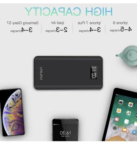 Power Bank Portable Charger Battery 4 Output Capacity B