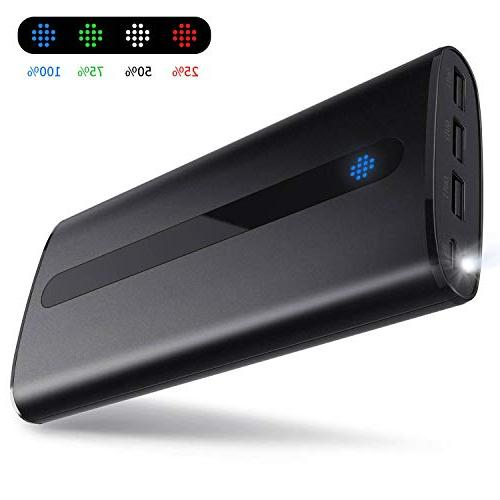 power bank 24000mah ultra portable phone charger