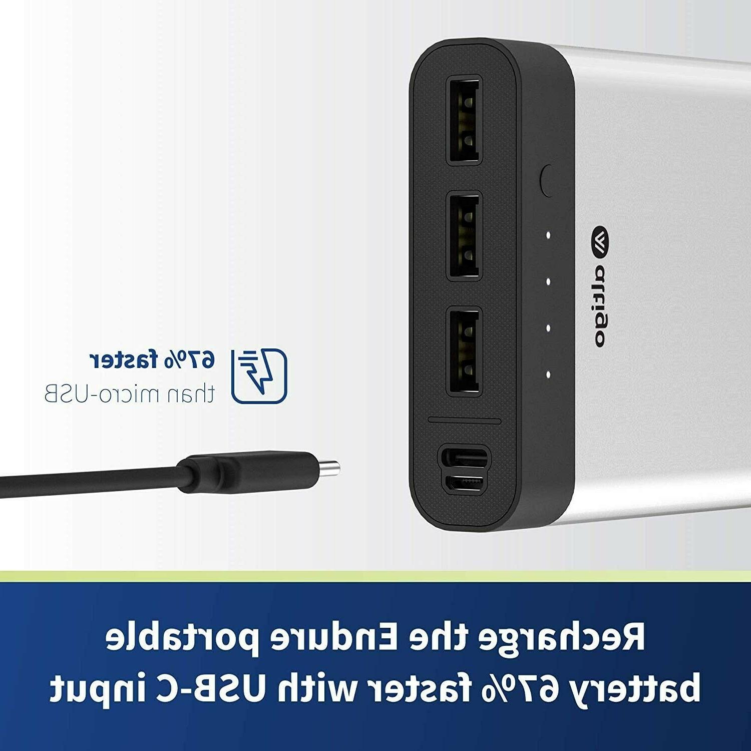 Power Charger with Dual USB