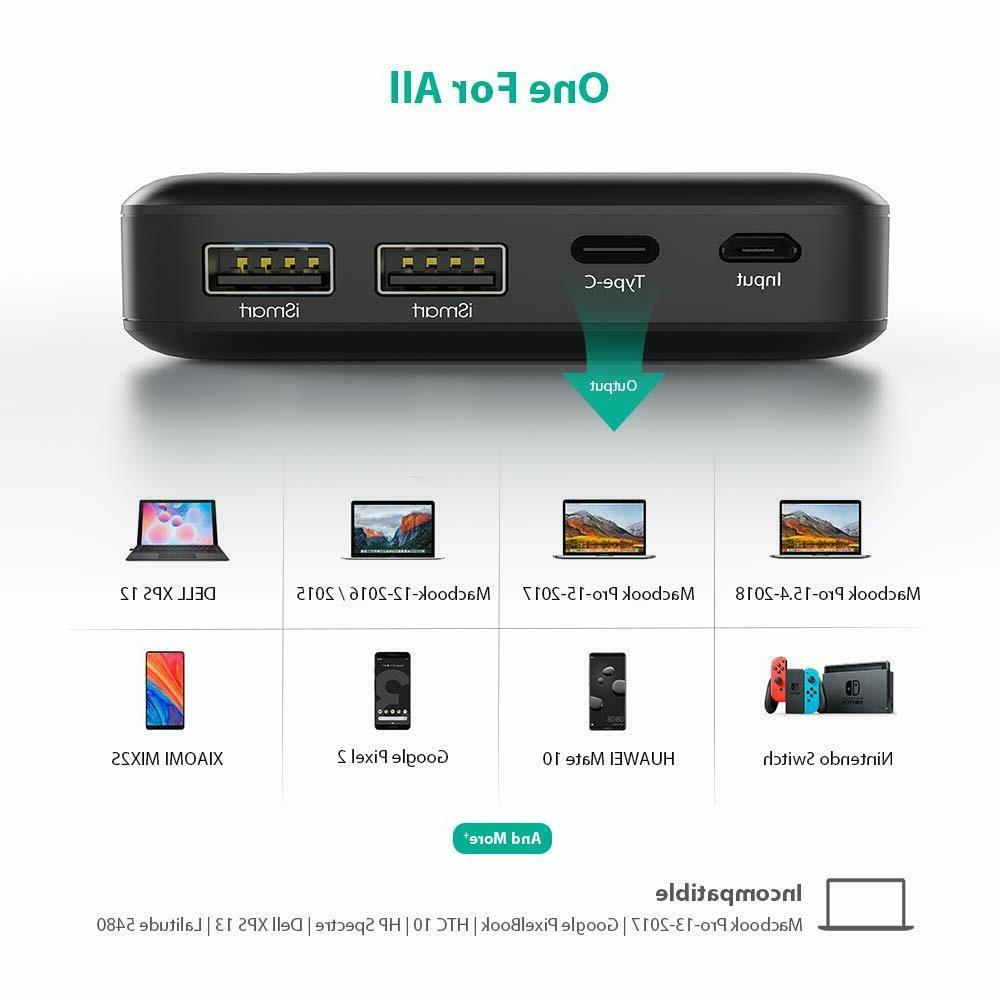 Power Bank Portable Fast 30W Output