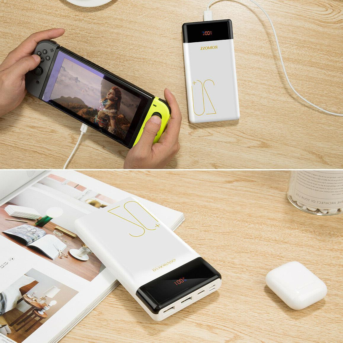 ROMOSS Bank QC3.0 Type PD Phone Charger