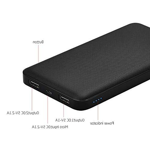 Power Power Bank Portable Charger 2-Port Compatible With and More