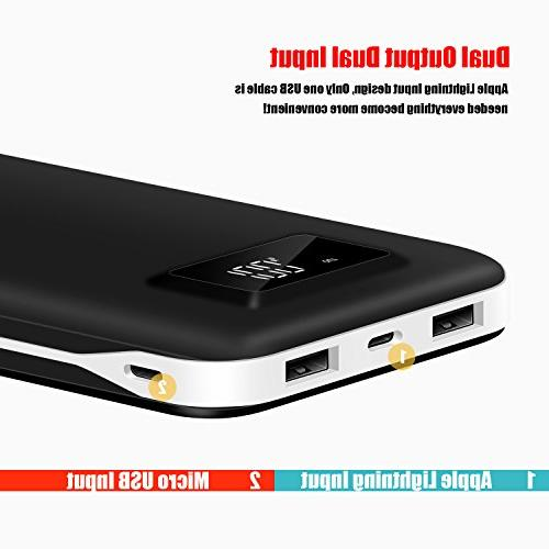 External Portable Charger Packs Dual