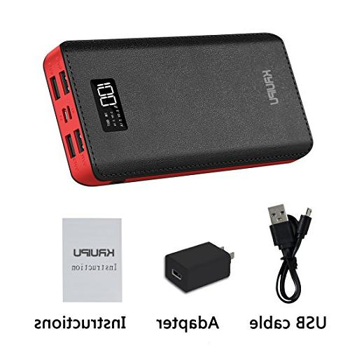 Power Bank 24000mAh Charger OutPut Huge Capacity Backup Battery Phone Almost Phone And