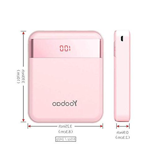 Yoobao Small Portable Charger External Cell Backup (LED Dual X 8 7 Android Smartphone & -