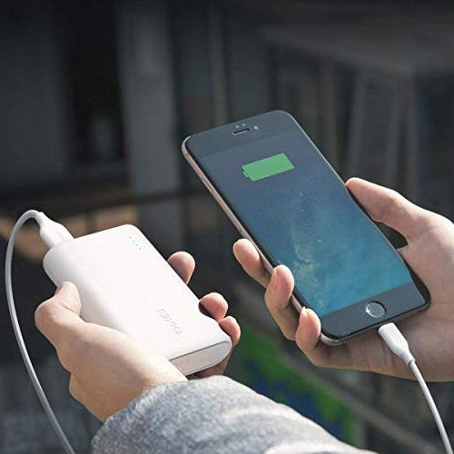 Anker PowerCore 10000, of The Smallest and Lightest 10000mAh Ultra-Compact, High-Speed Technology Power Bank Samsung and