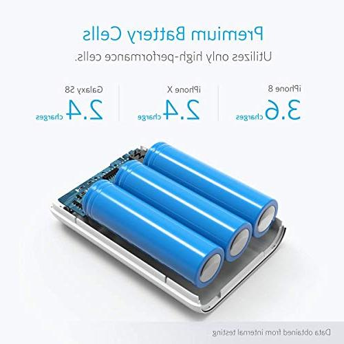 Anker PowerCore of Lightest 10000mAh Batteries, Ultra-Compact, High-Speed Technology Power Samsung and