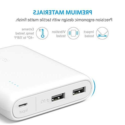 Anker PowerCore 13000, Compact 13000mAh 2-Port Ultra-Portable Phone Charger Bank PowerIQ Technology for Galaxy