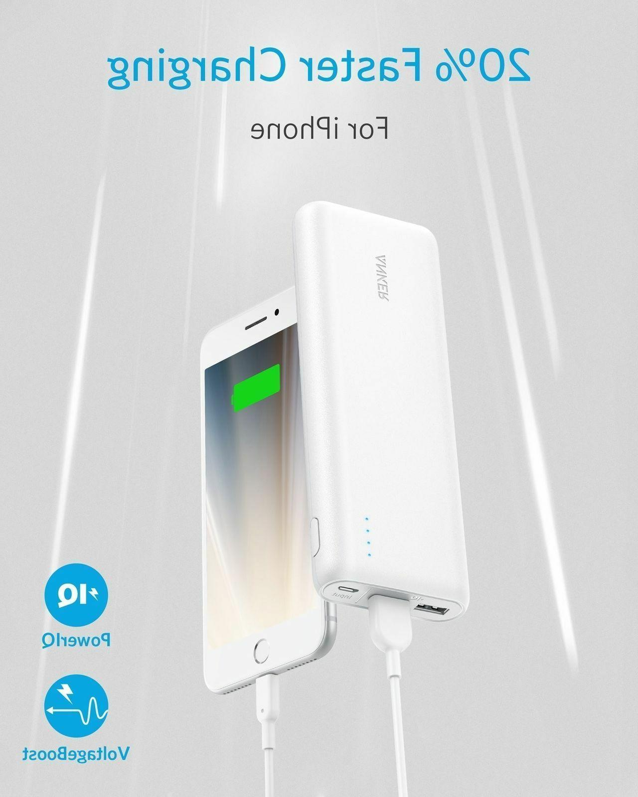 Anker PowerCore -Ultra High Capacity Power Output,PowerIQ Technology