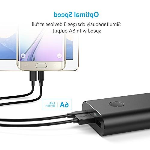Anker PowerCore+ Ultra-High Premium Charger, 20100mAh 6A Output Type-C for 6P/5X & iPhone, More
