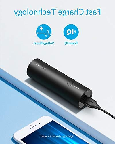 Anker 5000, 5000mAh High-Speed Charging Technology, Bank iPhone, iPad, Samsung