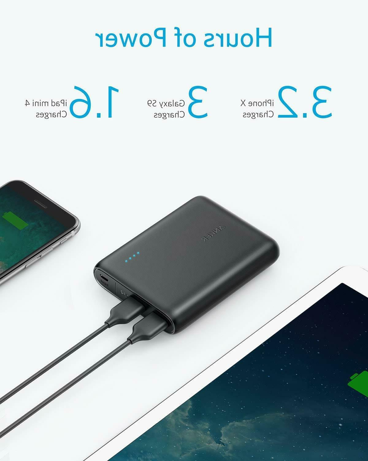 Anker PowerCore 13000mAh 2-Port Ultra-Portable Charger Power