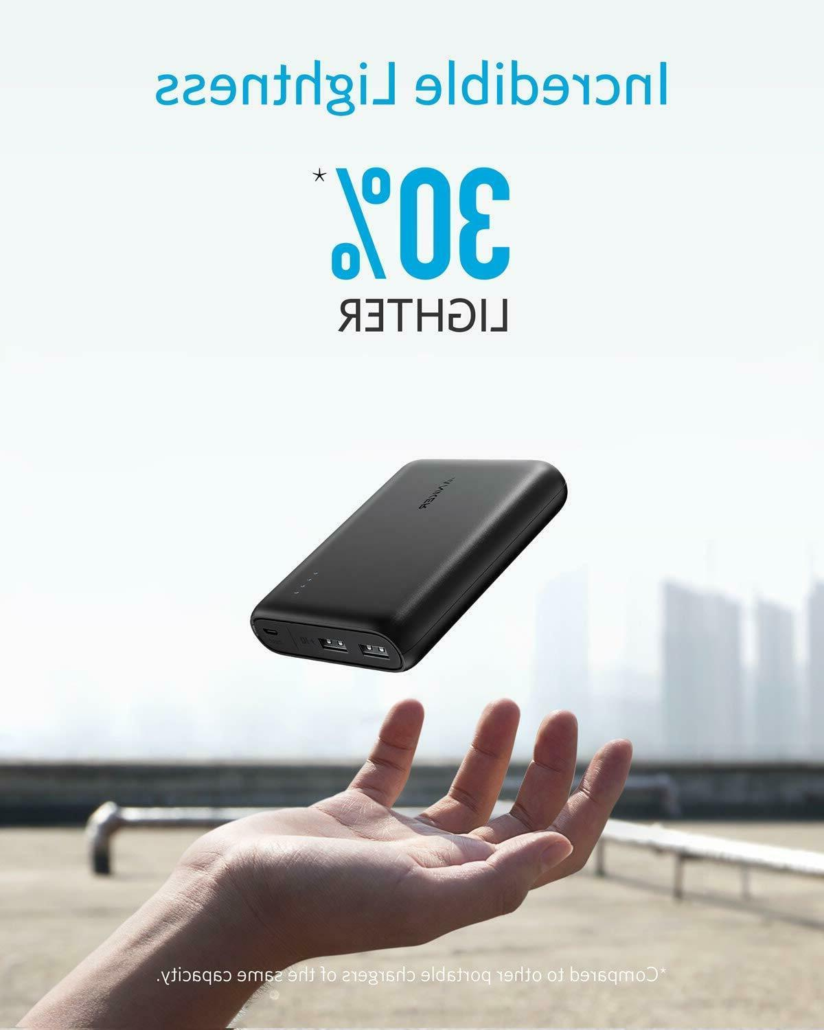 2-Port Ultra-Portable Phone Charger Power
