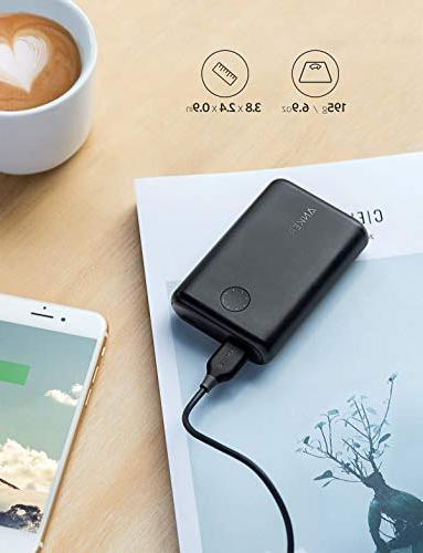 Anker PowerCore Ultra-Compact Portable Upgraded PowerIQ 2.0 Fast Charge iPhone, Samsung Galaxy More