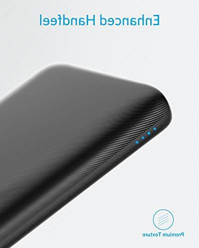 Anker PowerCore 10000mAh, USB-C Input , High Capacity Charger, Slim and for iPhone, Samsung and