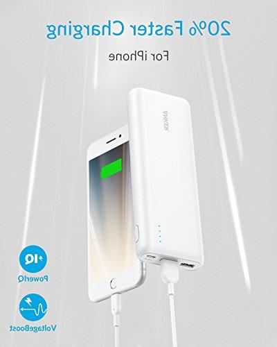 Portable 20100mAh - Capacity Power Bank with 4.8A Output, External Battery Pack for & Samsung Galaxy More