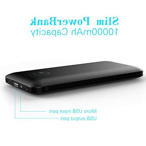 Bank External Battery with Tpye Cable for Black