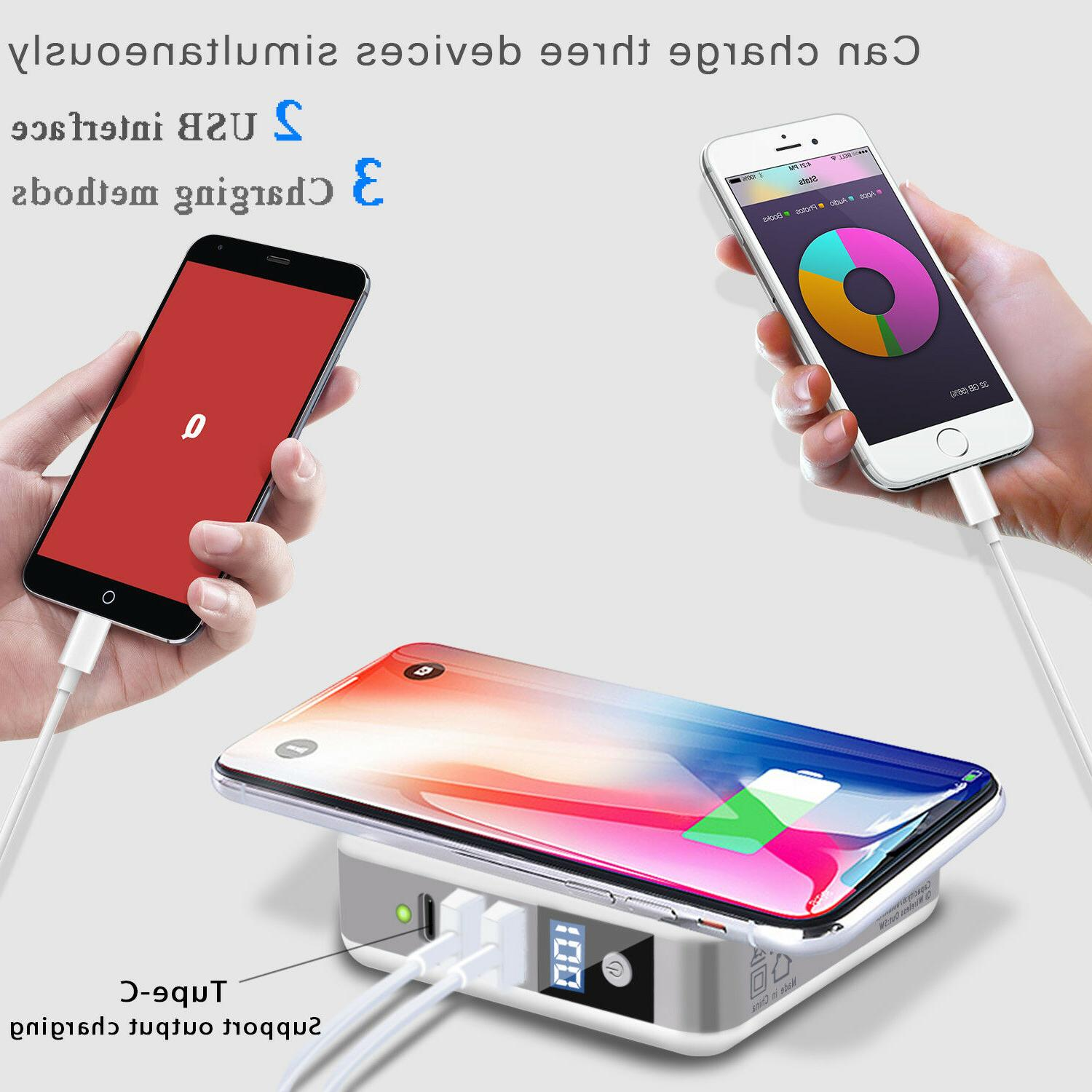 Qi Fast Charger Portable